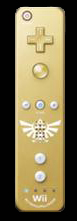 Golden Triforce WiiMote